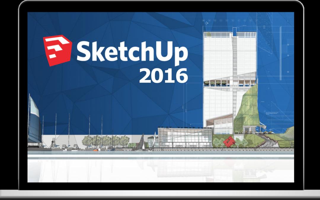 Novidades Sketchup 2016