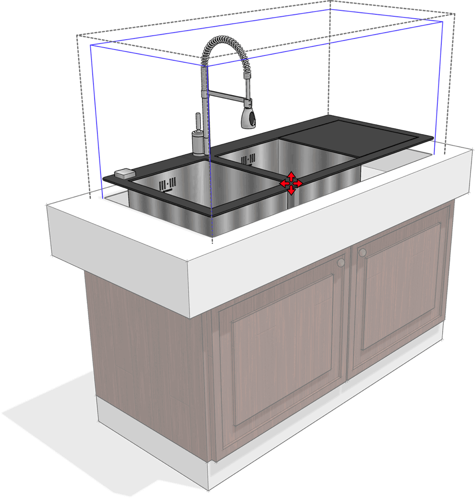 Modelagem 3D de projeto mobiliário com vantagens SketchUp Pro
