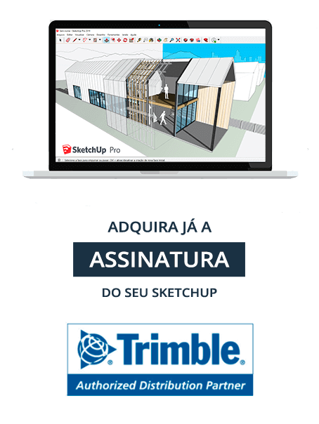 Plataforma SketchUp Pro com Gabster