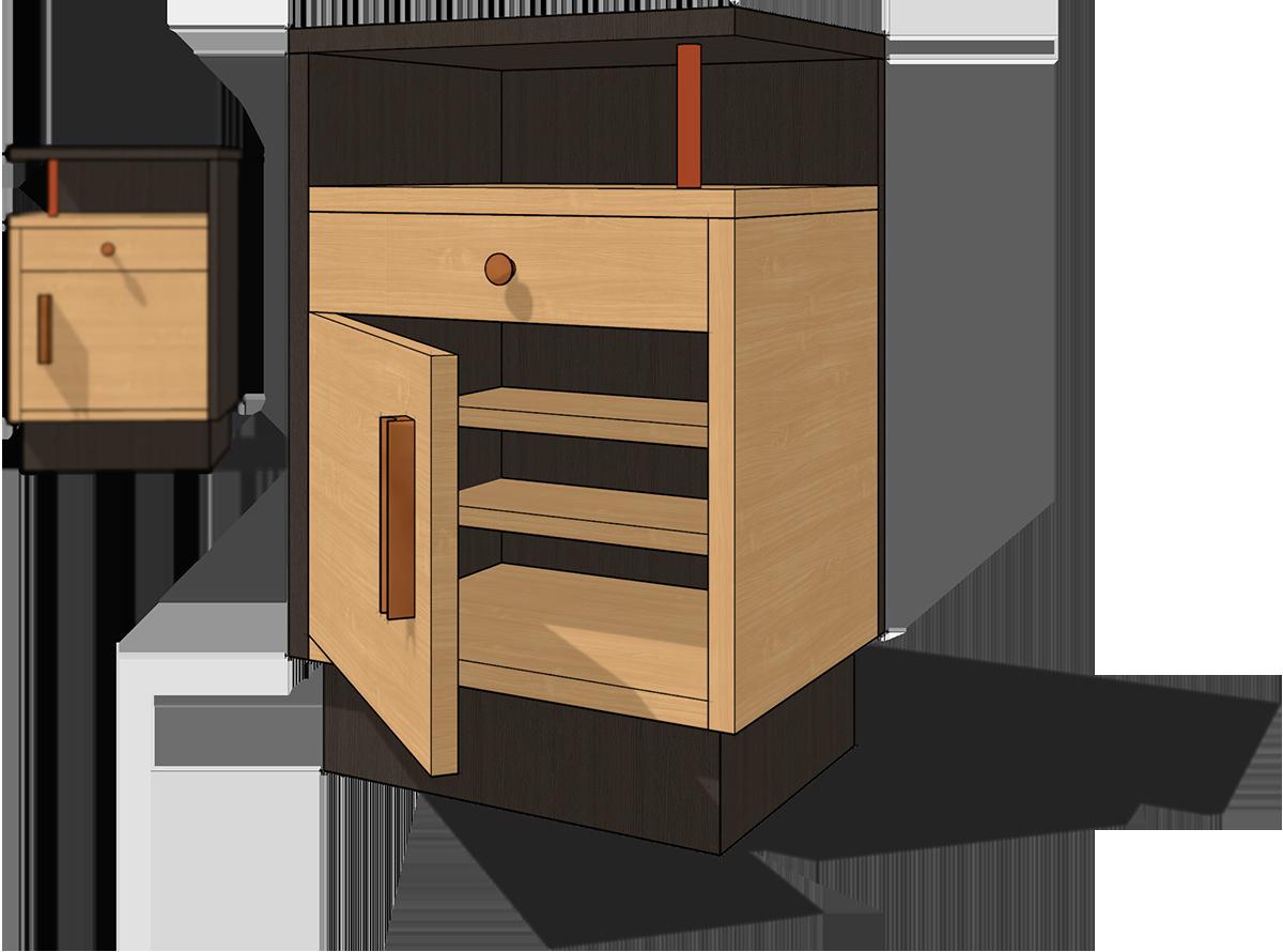 Marcenaria Moderna | Móveis modelados em 3d