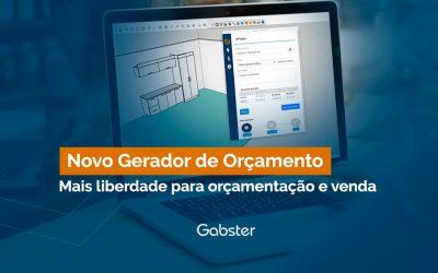 Orçamento ágil – Nova experiência de orçamentação e venda com a Plataforma Gabster