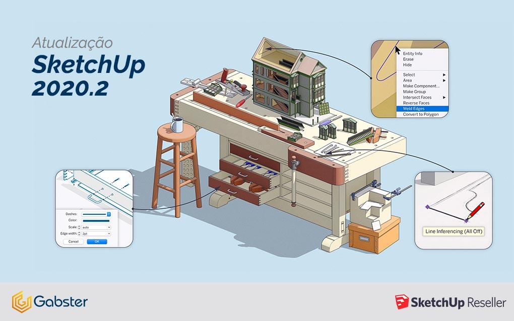SketchUp 2020.2 – Confira todas as novidades e comece a usar agora!